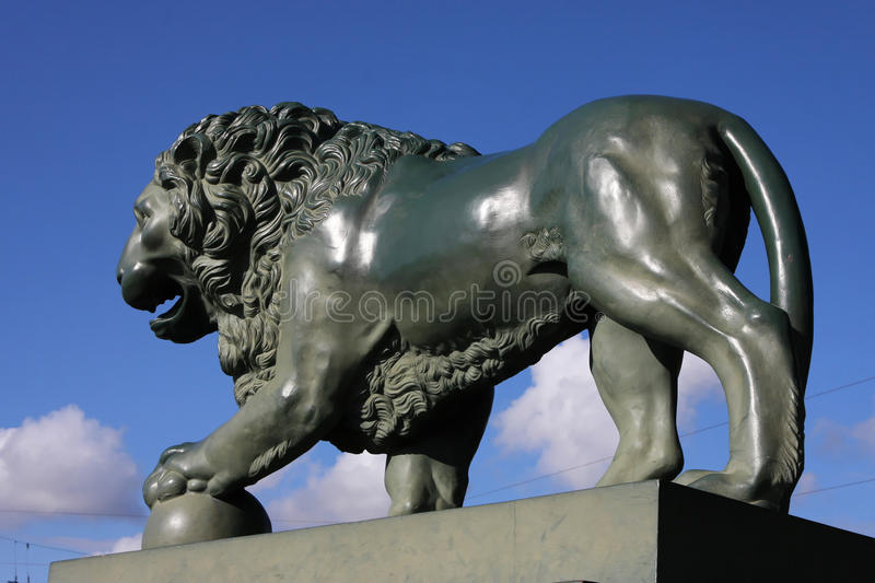 Download Lion In St-Petersburg Stock Photo - Image: 26597900