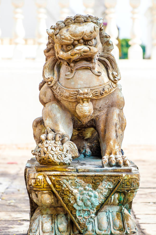 Lion Statue royalty-vrije stock fotografie