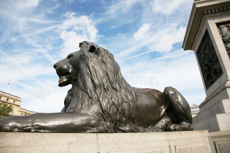 Download Lion Statue  In Trafalgar Square Stock Photo - Image: 20966410