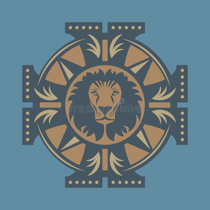 Lion Symbol ilustración del vector