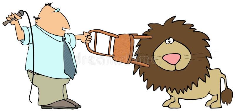 Download Lion Tamer stock illustration. Image of mane, whip, tamer - 4987600