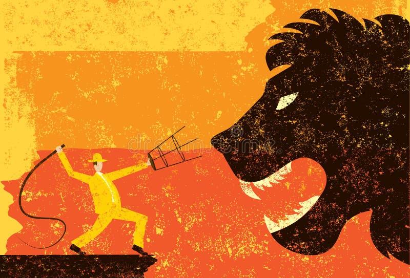 Lion Tamer ilustração do vetor