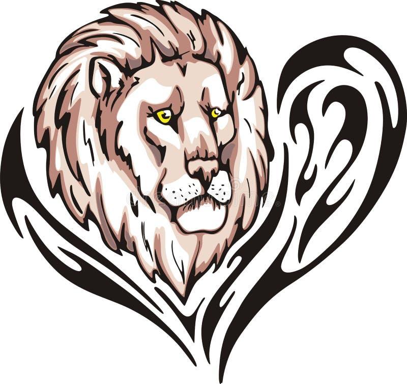 Download Lion tattoo stock vector. Illustration of emblem, illustration - 26259779