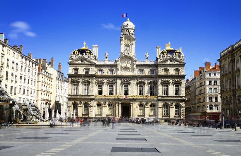 Lione, corridoio di città, Francia fotografia stock libera da diritti