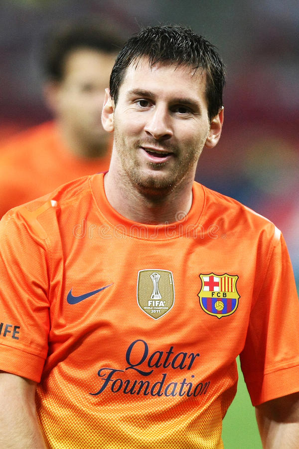 Lionel Andres Messi royalty-vrije stock foto