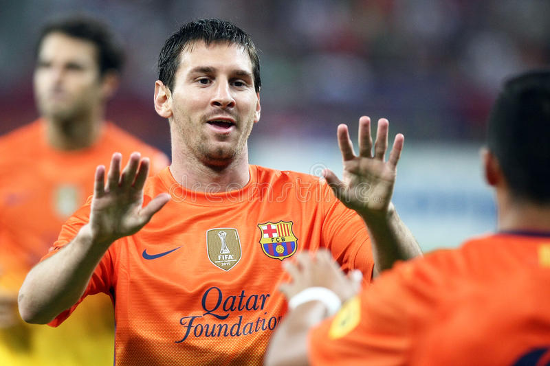 Lionel Andres Messi photo stock