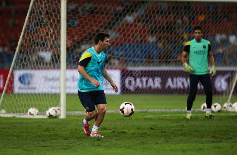 Lionel Andres Messi stockbilder