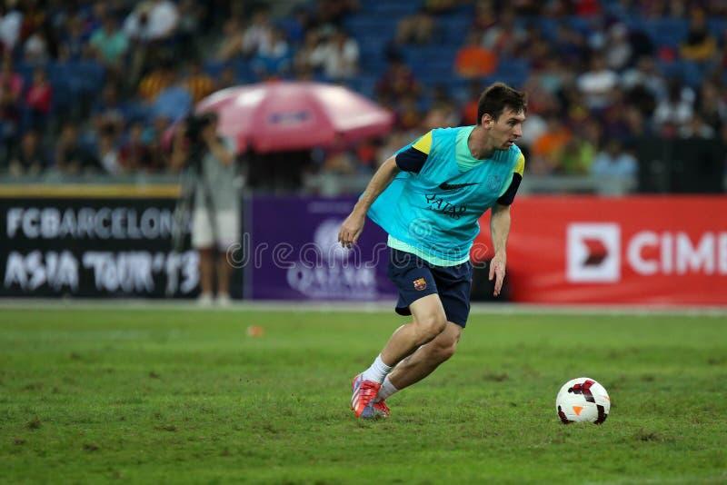 Lionel Andres Messi lizenzfreie stockbilder