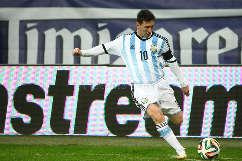 Lionel Andres Messi stock afbeelding