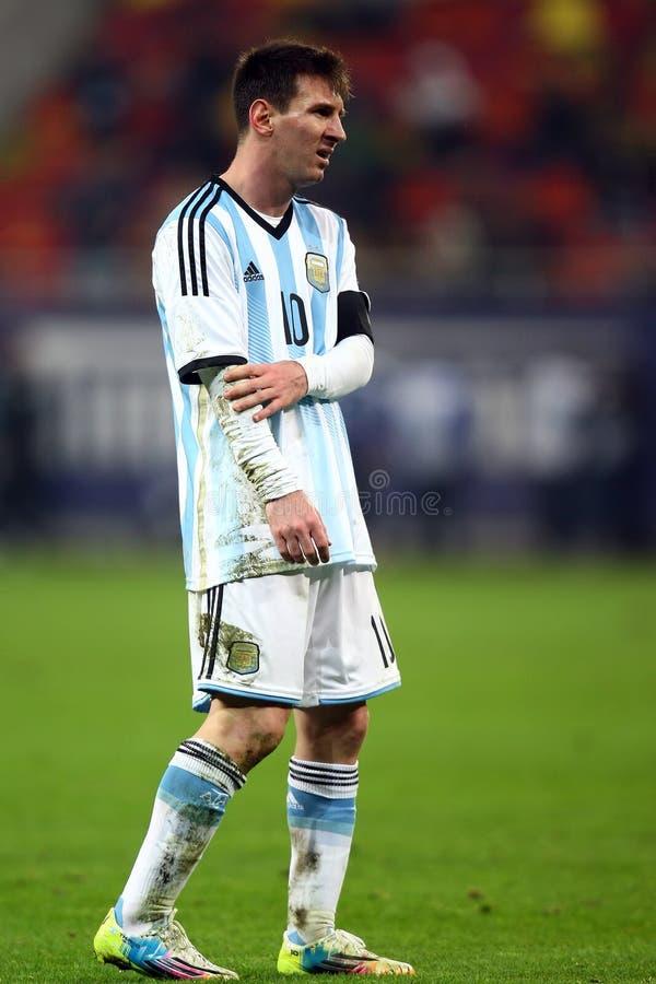 Lionel Andres Messi fotografering för bildbyråer