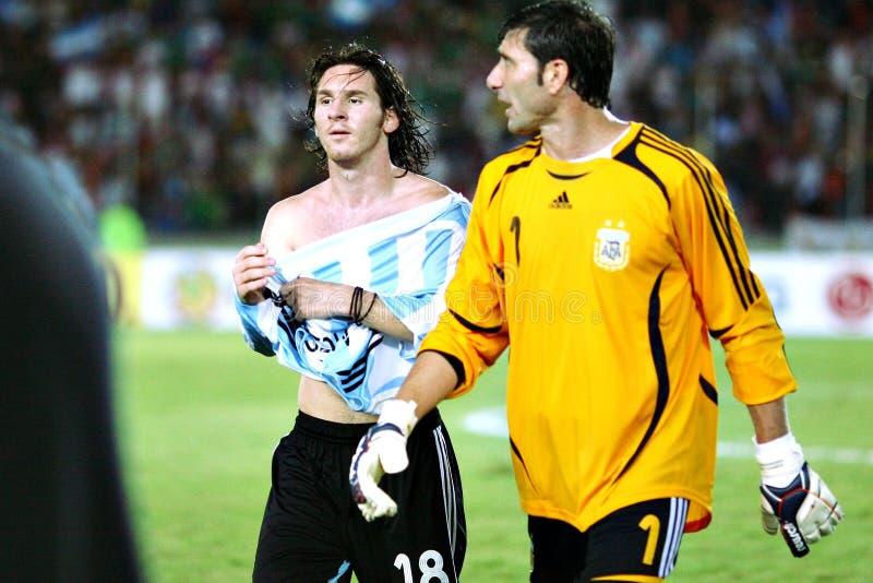 Lionel Messi royalty-vrije stock afbeelding