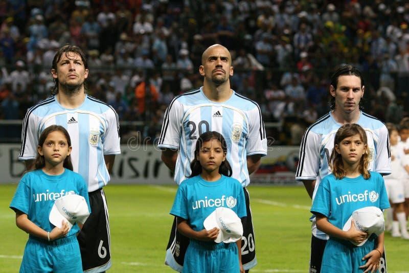 Lionel Messi royalty-vrije stock foto's
