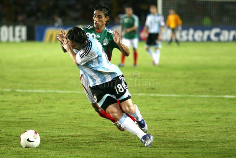 Lionel Messi royalty-vrije stock afbeeldingen