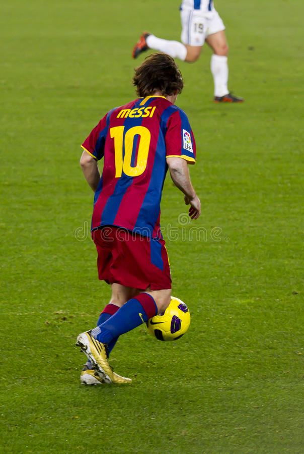 Lionel Messi images libres de droits