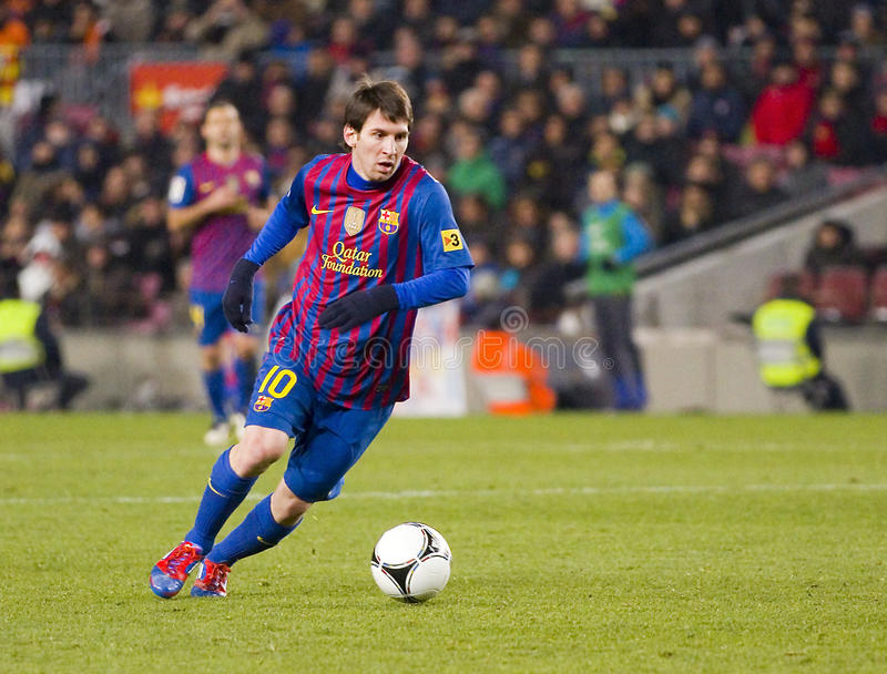 Lionel Messi 免版税库存图片