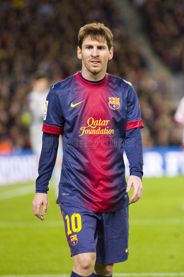 Lionel Messi photo libre de droits