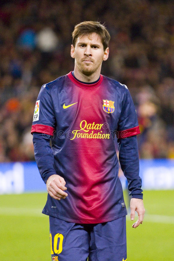 Lionel Messi photos stock