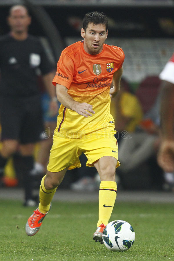 Lionel Messi arkivfoton