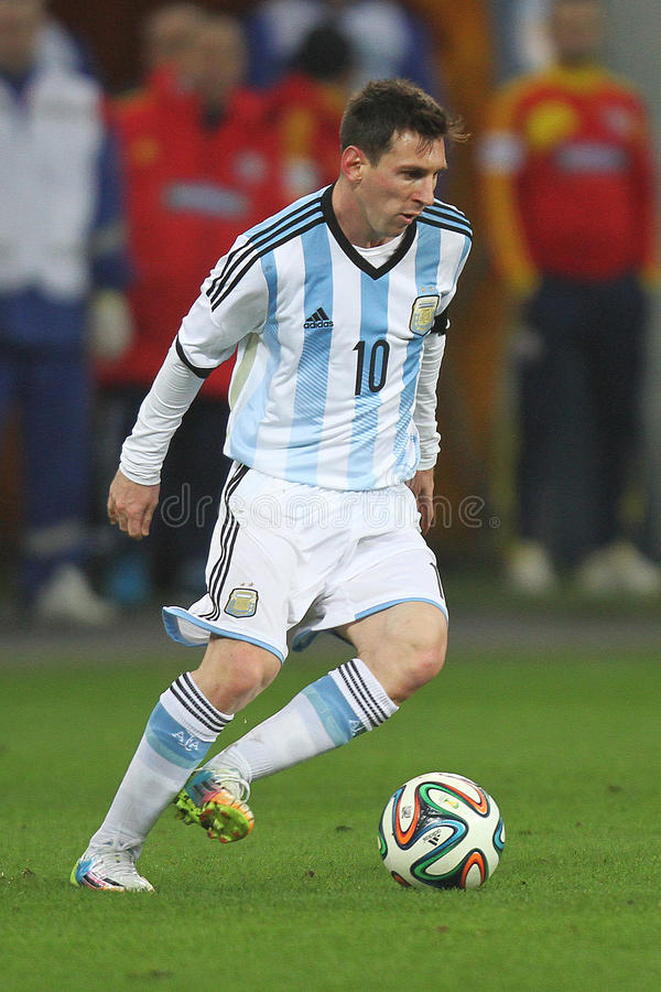 Lionel Messi imagens de stock royalty free