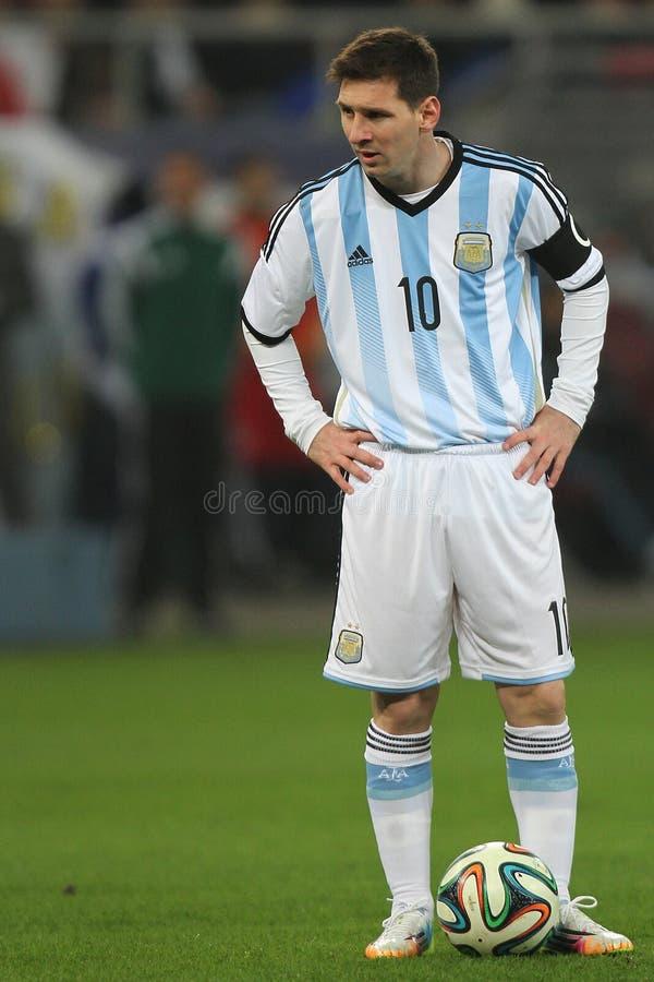 Lionel Messi imagem de stock royalty free