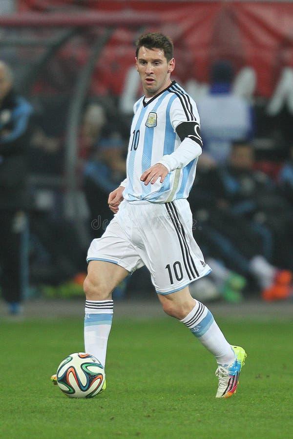 Lionel Messi stockfoto