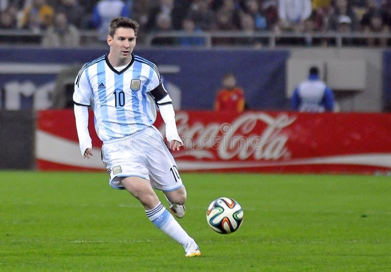 Lionel Messi lizenzfreie stockbilder
