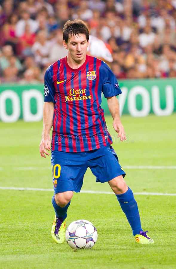Lionel Messi de FC Barcelone images stock