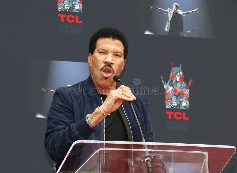 Lionel Richie image stock