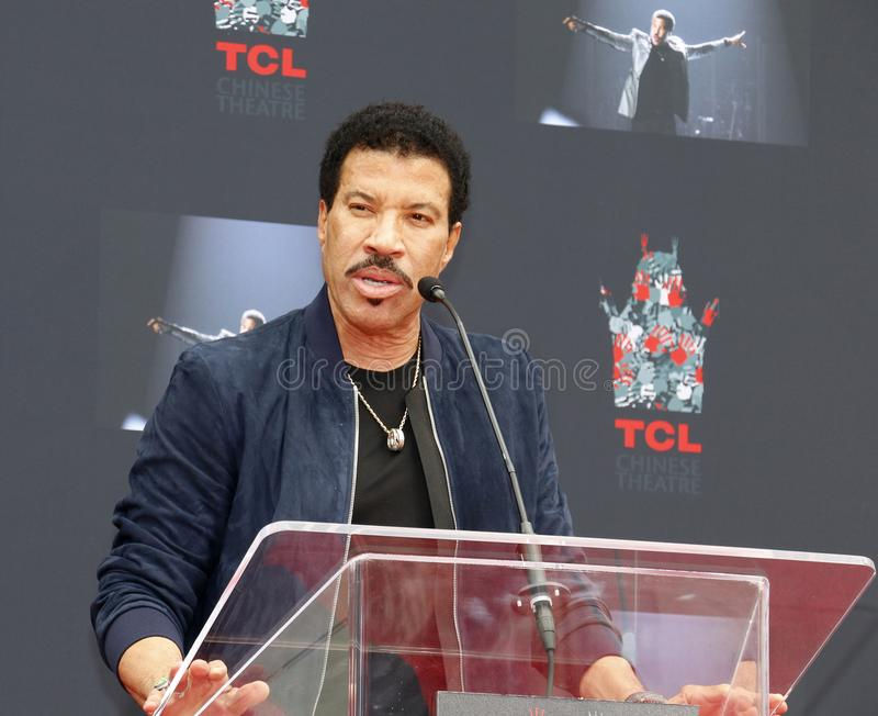 Lionel Richie images libres de droits