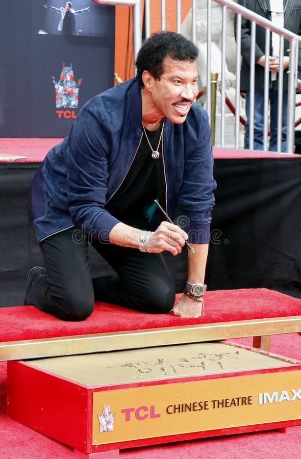 Lionel Richie images stock