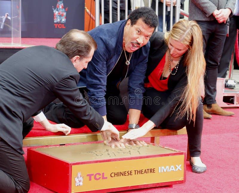 Lionel Richie photo stock