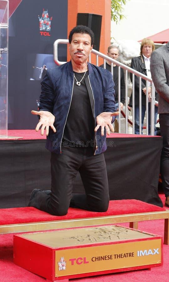 Lionel Richie photos libres de droits