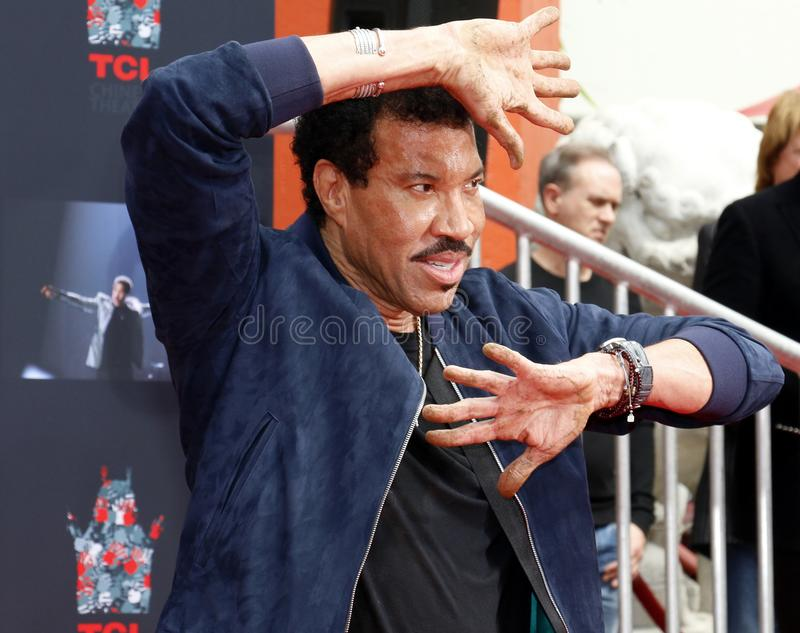 Lionel Richie foto de archivo