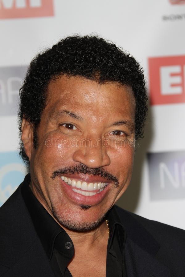 Lionel Richie. At the NARM Music Biz Awards Dinner Party, Century Plaza Hotel, Century City, CA 05-10-12 stock images
