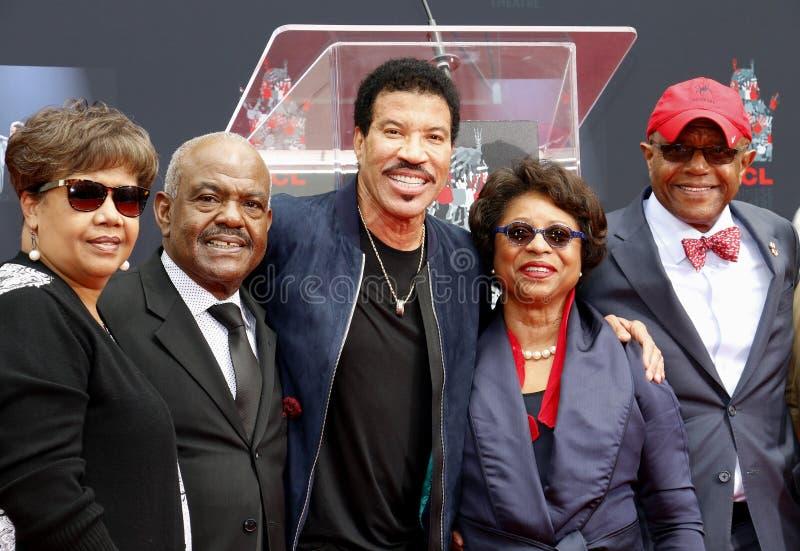 Lionel Richie et invités photos stock