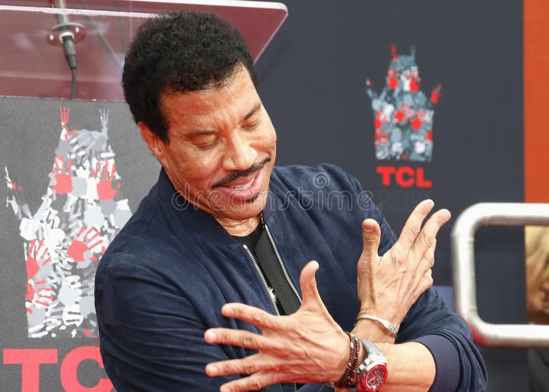Lionel Richie stock photography