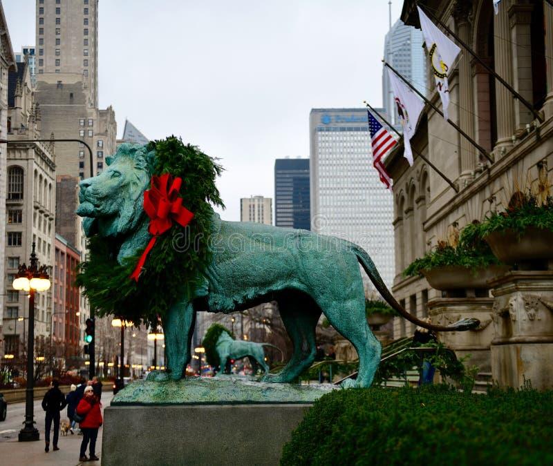 Lions de Kemeys' photo stock