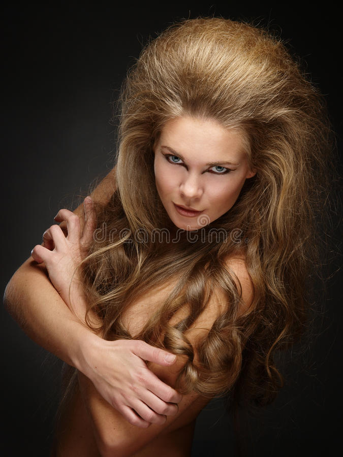 Download Lions in front stock photo. Image of erotic, face, make - 25148988