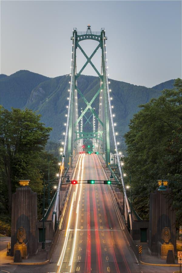 Lions Gate Bridge, Vancouver, Canada royalty free stock image