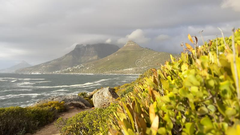 Lions Head and 12 Apostles stock photos