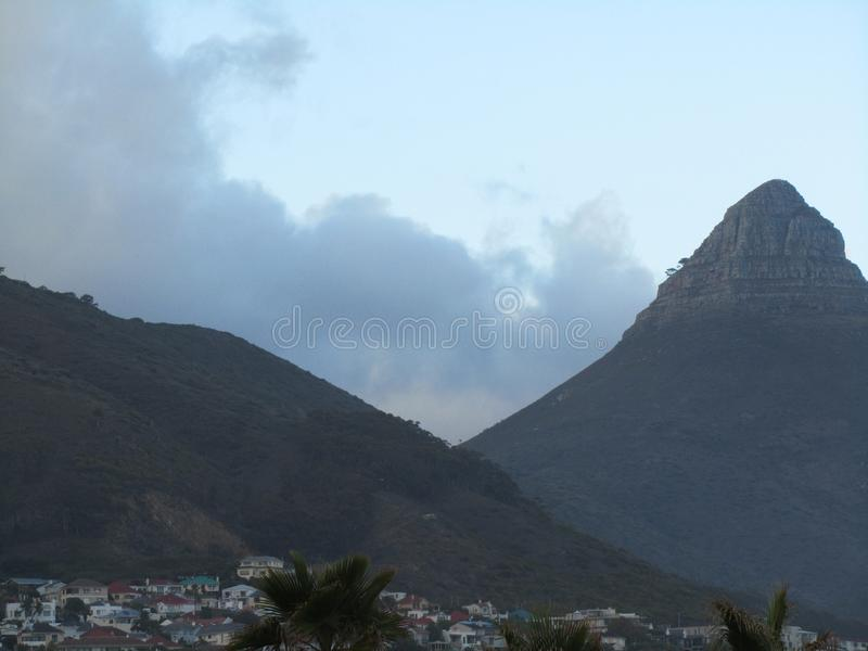 Lions Head Cape Town South Africa royalty free stock image