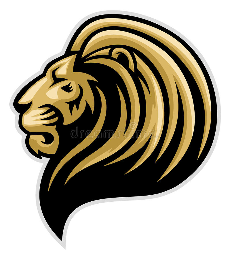 Free Lions Head Mascot Royalty Free Stock Photography - 50677847