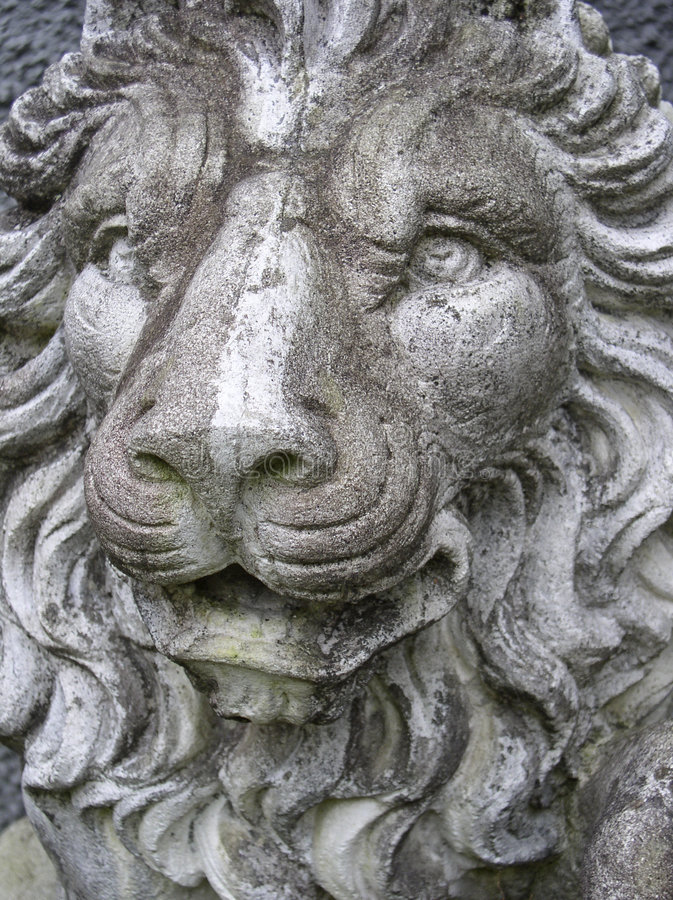 Download Lionstaty fotografering för bildbyråer. Bild av stonework - 36867