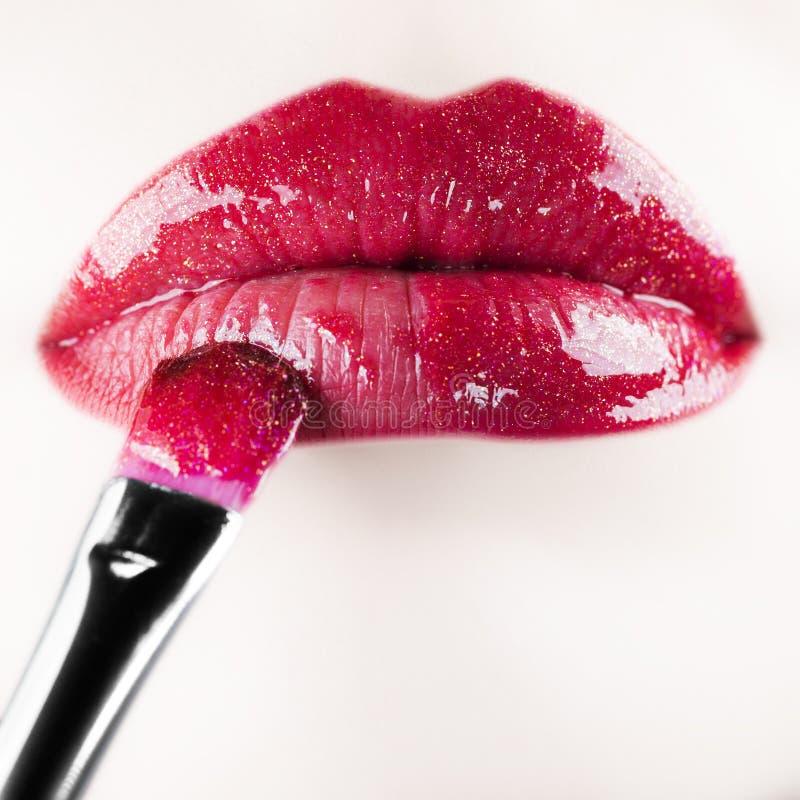 Free Lip Gloss Royalty Free Stock Photography - 31454117