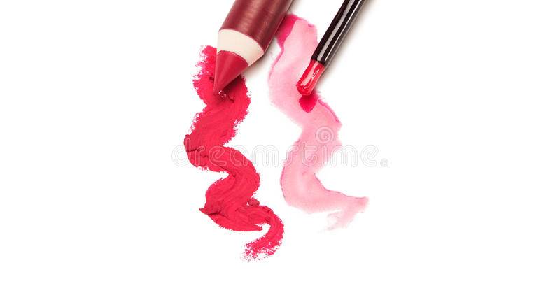 Download Lip makeup stock image. Image of color, products, makeup - 33317657