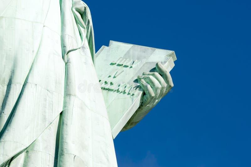 Lipa 4 dnia niepodległości pastylki statua wolności zdjęcia stock