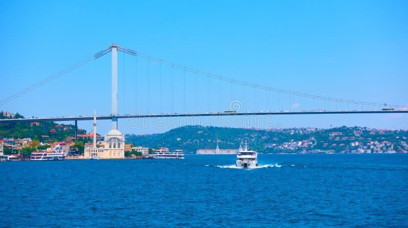 15 Lipa męczenników most w Istanbuł zdjęcia royalty free