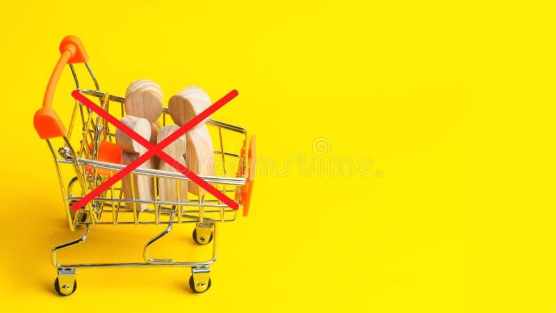 Lipa 30th - Światowy dzień Przeciw Kupczyć w istotach ludzkich Istota ludzka no jest produktu Przerwy dziecka nadużycie Pojęcia n zdjęcia stock