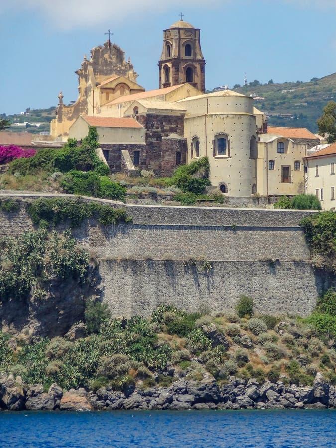 Lipari в Италии стоковое фото rf