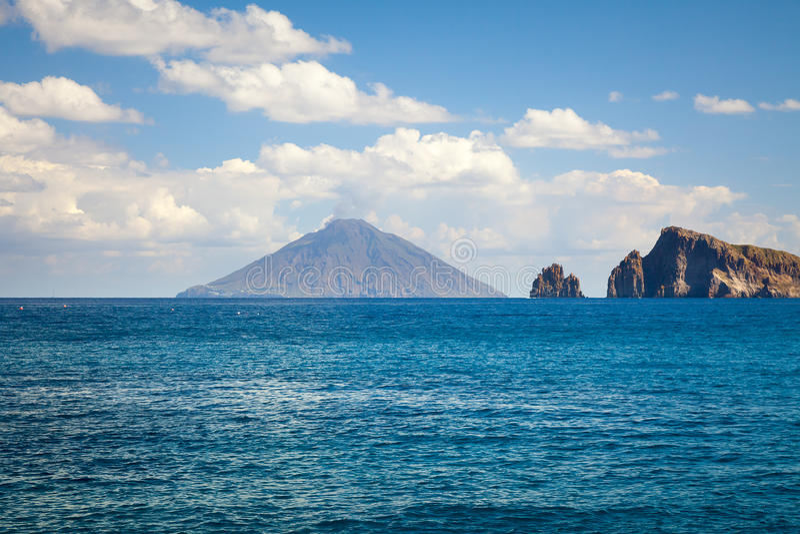 Lipari-Inseln lizenzfreies stockfoto